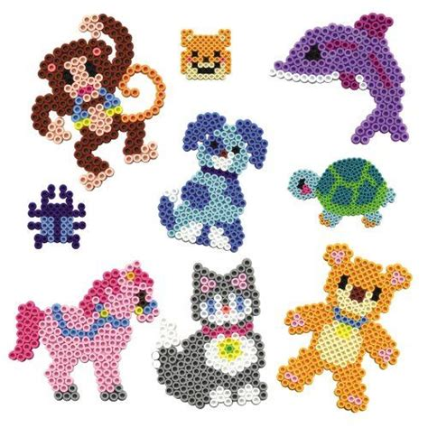 perler animals animals hama perler crafts melting