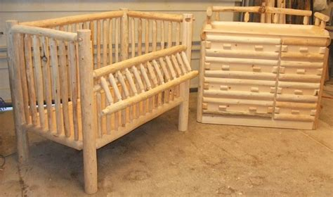 log baby cribs log baby crib plans woodworking projects plans