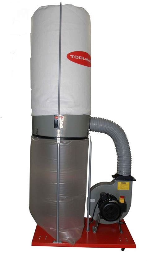 dust collection bags woodworking dust extractor single bag toolmate fm300