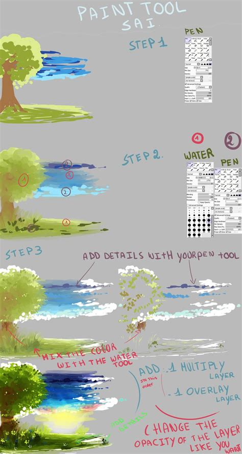 paint tool sai selection tool tutorial background tutorial with sai by kirimimi on deviantart