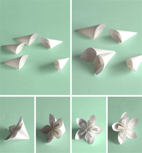 step by step origami flowers step by step kusudama flower