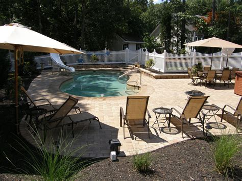 pool and patio designs 2 ideas for inground swimming pool patio