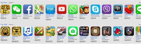 best free app top 20 best free iphone and apps of 2013 on ios app