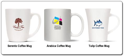 Personalised Coffee Cups, Printed Coffee Mugs