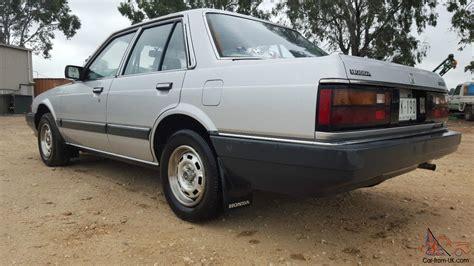 service manual old car manuals online 1985 honda accord user handbook honda accord sedan 1985