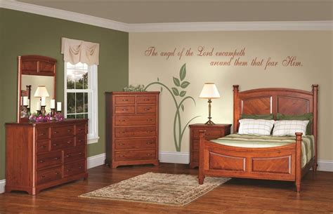 solid cherry bedroom furniture sets american made rustic cherry bedroom furniture set