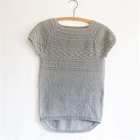 free knitting patterns for summer tops battersea free pattern knitbug