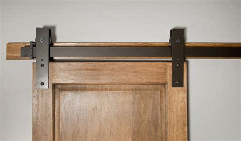 barn door track and hardware made interior barn door hardware flat track