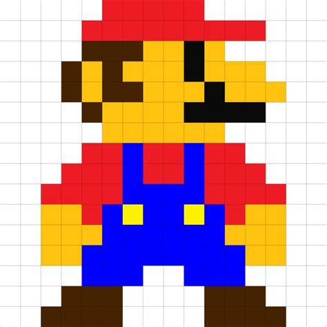 paper pixel craft 8 bit mario by raivcesleinadnayr on deviantart craft