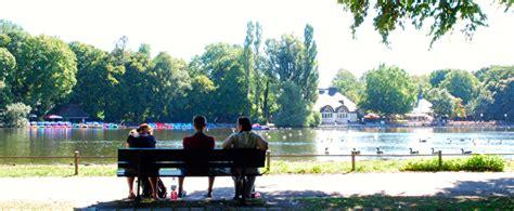 Englischer Garten München Bootfahren by Seen M 252 Nchen Kleinhesseloher See Das Offizielle