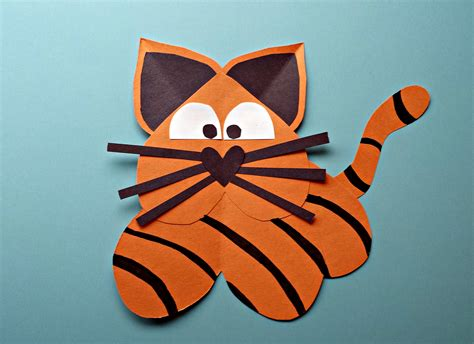 tiger crafts for tiger craft for crafty morning