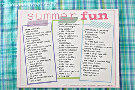 ideas for summer summer ideas s suffolk au pairs news bulletin
