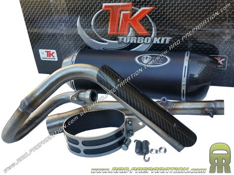 exhaust turbokit tk road h2 for yamaha wr 125cc 4t from 2009