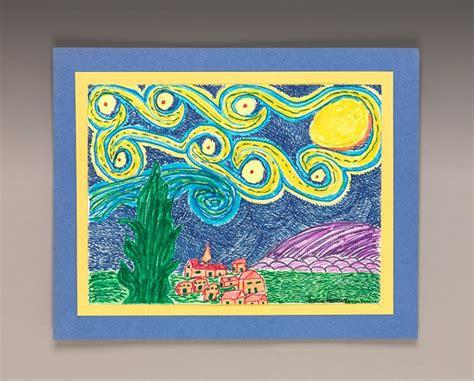 paint with a twist ta draw a twist on starry craft crayola
