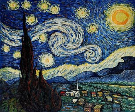 picasso paintings starry shopping vincent gogh starry painting on