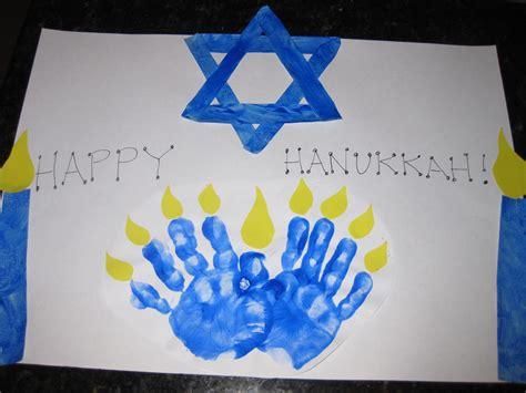 hanukkah arts and crafts for handprint menorah family crafts
