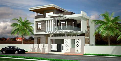 Home Exterior Design India Residence Houses modern elevation bungalow design front elevation design