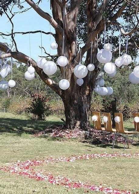 tree outdoor decorations outdoor tree decorations wedding decor