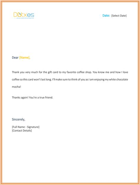 thank for gift 8 best thank you letters to appreciate the gifts from