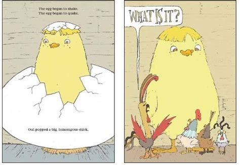 chicken picture book chicken big by keith review reading levels