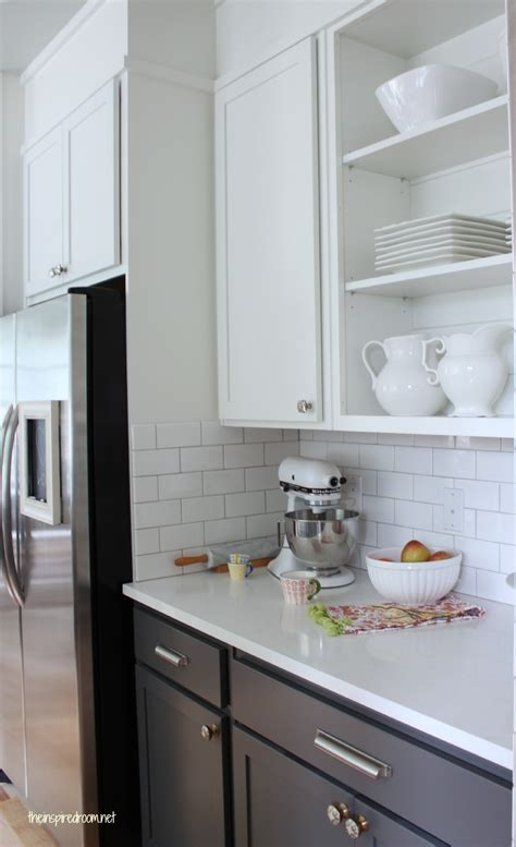 kitchen paint colors with white cabinets and black granite kitchen cabinet colors before after the inspired room