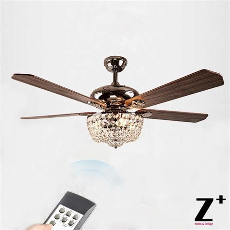 ceiling fans with chandelier light american country style led lights fan chandelier