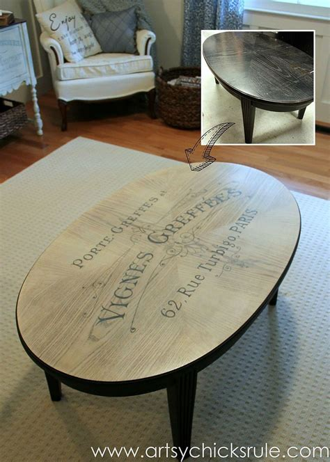 chalk paint table ideas 25 best ideas about coffee table makeover on