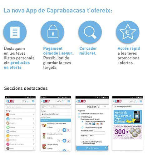 caprabo a casa online descarrega l app de capraboacasa i fes la teva compra al