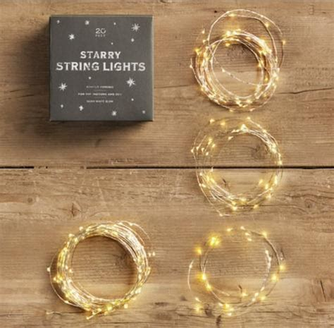 glowing starry string lights starry string lights remodelista