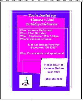 how to make a birthday card on microsoft word how to create a birthday invitation card using microsoft