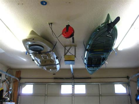 Garage Storage Kayak 17 Best Ideas About Kayak Storage On Canoe