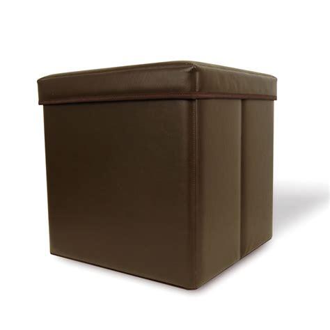 storage ottoman cube walmart houseofaura leather ottoman storage cube hadfield