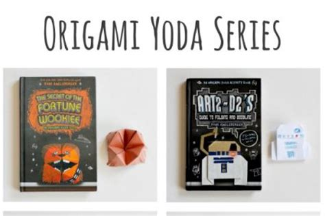 the origami yoda series books make and takes