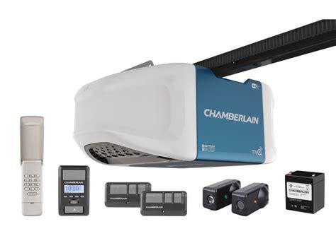 chamberlain garage door opener programming homelink 1 1 4 hps wi fi garage door opener with battery backup