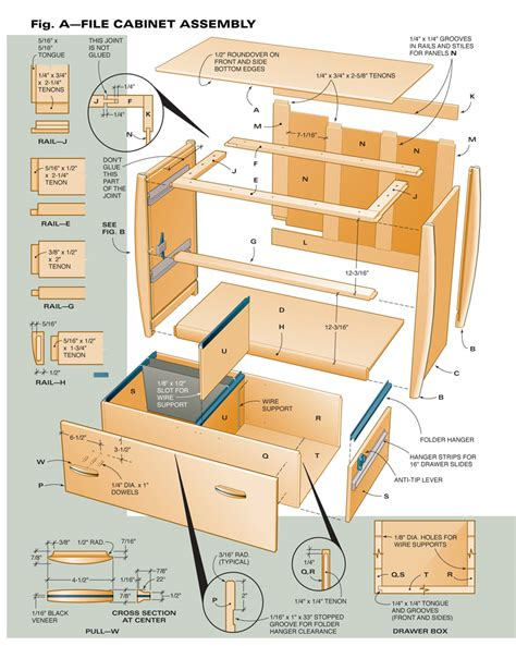woodworking cabinet plans how to build filing cabinet plans pdf plans
