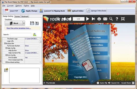 free picture book maker flipbook creator professional free software