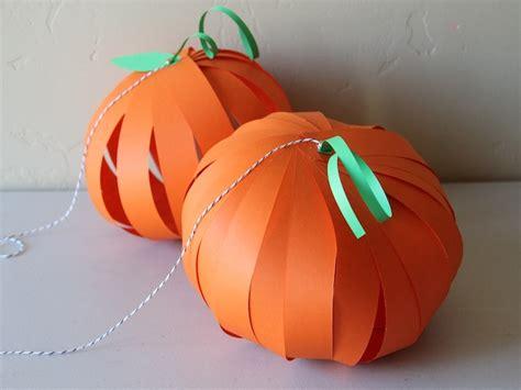 pumpkin crafts pumpkin lantern diy craft