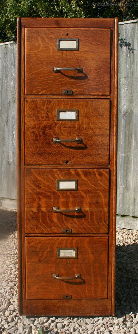 antique wood filing cabinet vintage oak filing cabinet antiques atlas