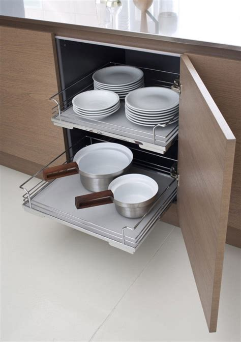 how to make pull out drawers in kitchen cabinets kitchen design ideas pull out drawers in kitchen