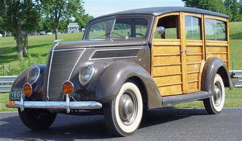 Ford Woody by 1937 Ford Woody Front Angle