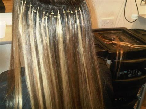 micro extensions micro bond weave extensions weft hair extensions