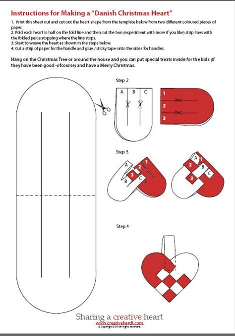 craft for pdf hearts template craft