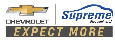 Supreme Chevrolet Cadillac Of Plaquemine by Supreme Chevrolet Of Plaquemine Serving Baton