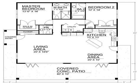 small house plans with open floor plans best open floor plans open floor plan house designs small