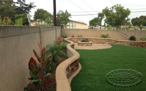 backyard planter ideas pavers archives orange county landscape contractor