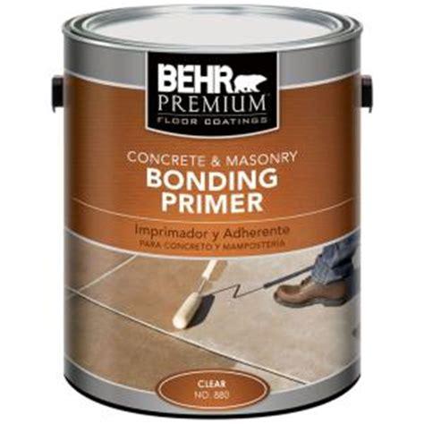 home depot paint primer behr premium 1 gal concrete masonry bonding primer