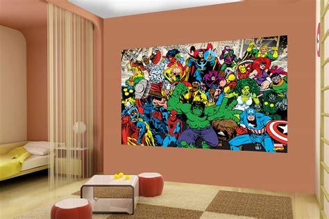 marvel wall mural marvel wall murals