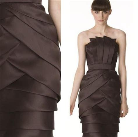 origami inspired dress susan murray trend pleats and origami