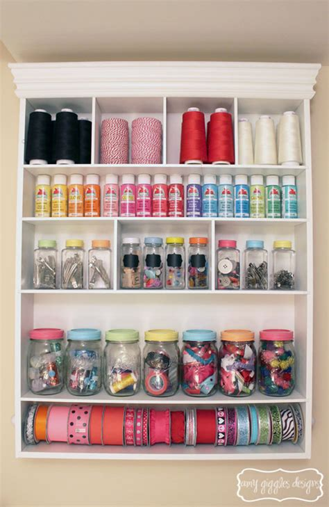 small craft projects small craft room storage ideas
