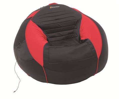 Bean Bag Chairs With Speakers by X Rocker Big Kahuna Bean Bag With Speakers Black
